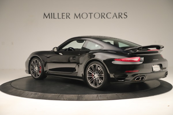 Used 2014 Porsche 911 Turbo for sale Sold at Aston Martin of Greenwich in Greenwich CT 06830 4