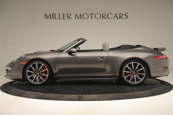 Used 2015 Porsche 911 Carrera 4S for sale Sold at Aston Martin of Greenwich in Greenwich CT 06830 3