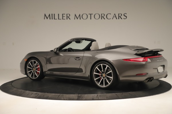 Used 2015 Porsche 911 Carrera 4S for sale Sold at Aston Martin of Greenwich in Greenwich CT 06830 4