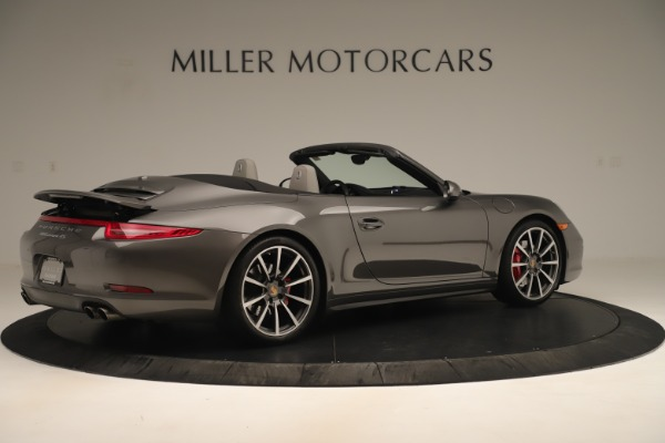 Used 2015 Porsche 911 Carrera 4S for sale Sold at Aston Martin of Greenwich in Greenwich CT 06830 8