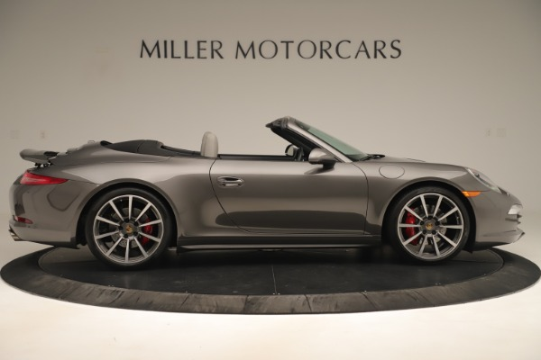 Used 2015 Porsche 911 Carrera 4S for sale Sold at Aston Martin of Greenwich in Greenwich CT 06830 9