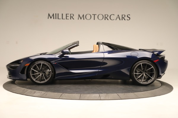 New 2020 McLaren 720S Spider Convertible for sale $372,250 at Aston Martin of Greenwich in Greenwich CT 06830 2