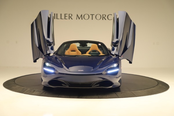 New 2020 McLaren 720S Spider Convertible for sale $372,250 at Aston Martin of Greenwich in Greenwich CT 06830 27