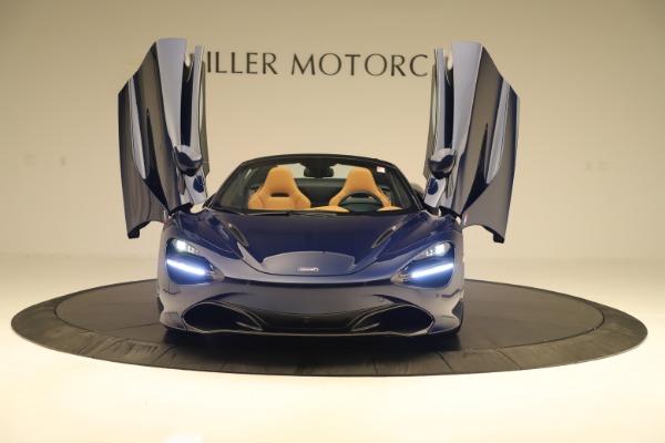 New 2020 McLaren 720S Spider Luxury for sale $372,250 at Aston Martin of Greenwich in Greenwich CT 06830 27
