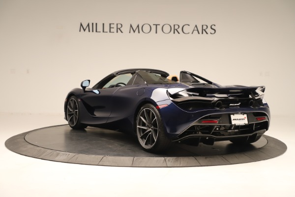New 2020 McLaren 720S Spider for sale $372,250 at Aston Martin of Greenwich in Greenwich CT 06830 3