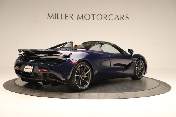 New 2020 McLaren 720S Spider Convertible for sale $372,250 at Aston Martin of Greenwich in Greenwich CT 06830 4