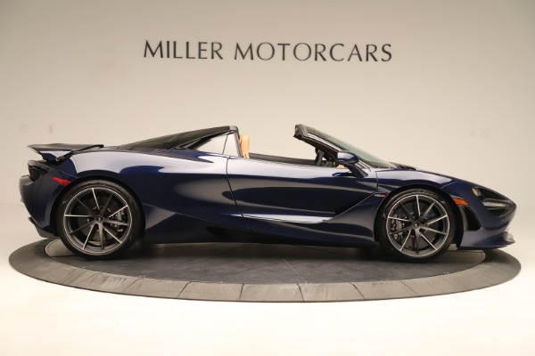 New 2020 McLaren 720S Spider Convertible for sale $372,250 at Aston Martin of Greenwich in Greenwich CT 06830 5