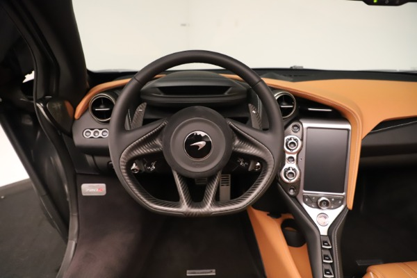 New 2020 McLaren 720S Spider Convertible for sale $372,250 at Aston Martin of Greenwich in Greenwich CT 06830 9