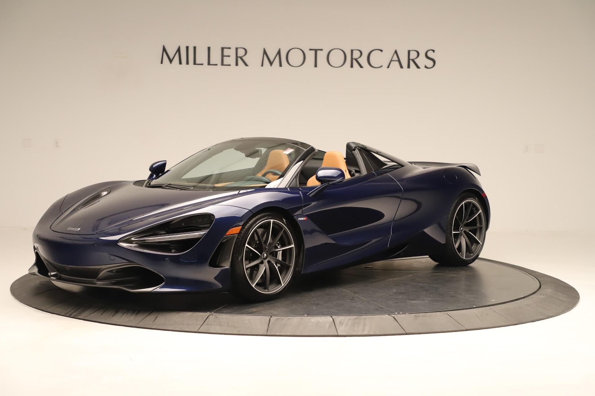 New 2020 McLaren 720S Spider Luxury for sale $372,250 at Aston Martin of Greenwich in Greenwich CT 06830 1