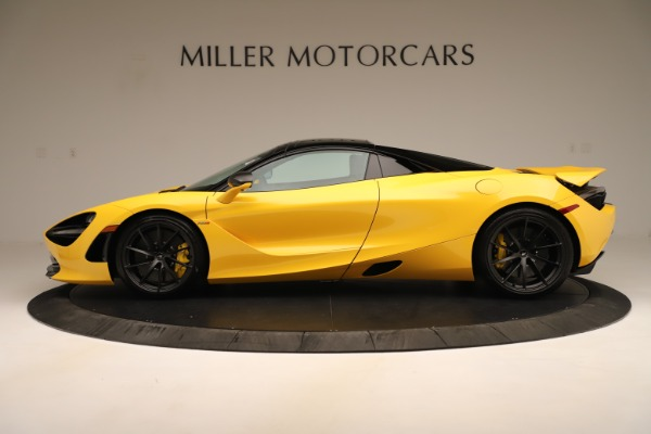 New 2020 McLaren 720S SPIDER Convertible for sale Sold at Aston Martin of Greenwich in Greenwich CT 06830 3