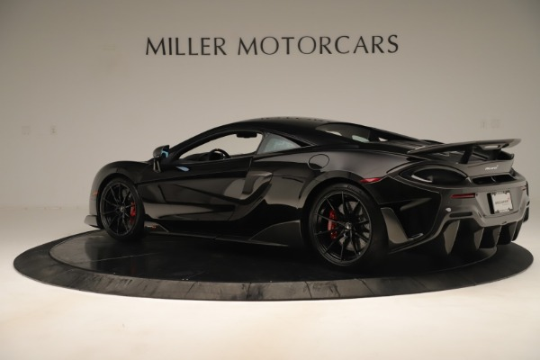 Used 2019 McLaren 600LT Luxury for sale Call for price at Aston Martin of Greenwich in Greenwich CT 06830 3