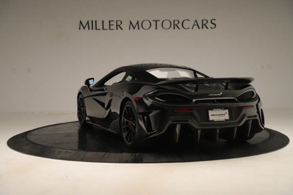 Used 2019 McLaren 600LT Luxury for sale Call for price at Aston Martin of Greenwich in Greenwich CT 06830 4