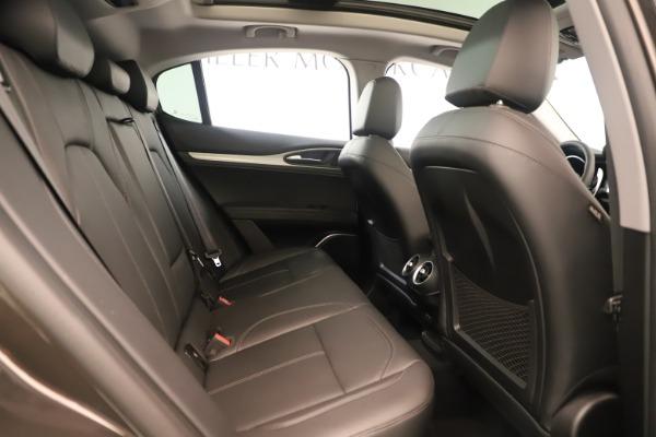 New 2019 Alfa Romeo Stelvio Ti Q4 for sale Sold at Aston Martin of Greenwich in Greenwich CT 06830 27