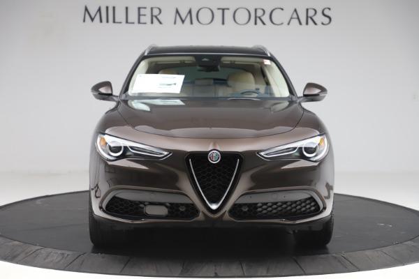 New 2019 Alfa Romeo Stelvio Ti Lusso Q4 for sale Sold at Aston Martin of Greenwich in Greenwich CT 06830 12