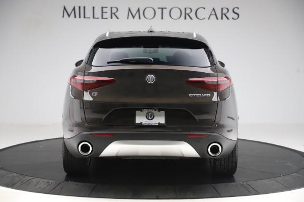 New 2019 Alfa Romeo Stelvio Ti Lusso Q4 for sale Sold at Aston Martin of Greenwich in Greenwich CT 06830 6