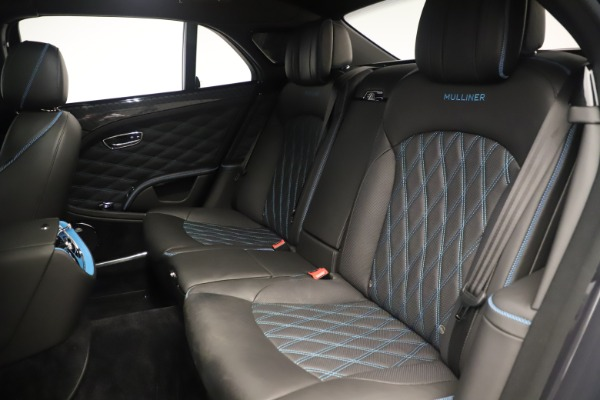 Used 2018 Bentley Mulsanne Speed Design Series for sale Sold at Aston Martin of Greenwich in Greenwich CT 06830 25