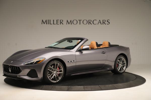 New 2019 Maserati GranTurismo Sport Convertible for sale Sold at Aston Martin of Greenwich in Greenwich CT 06830 2