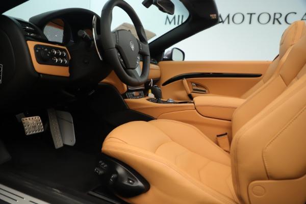 New 2019 Maserati GranTurismo Sport Convertible for sale Sold at Aston Martin of Greenwich in Greenwich CT 06830 20