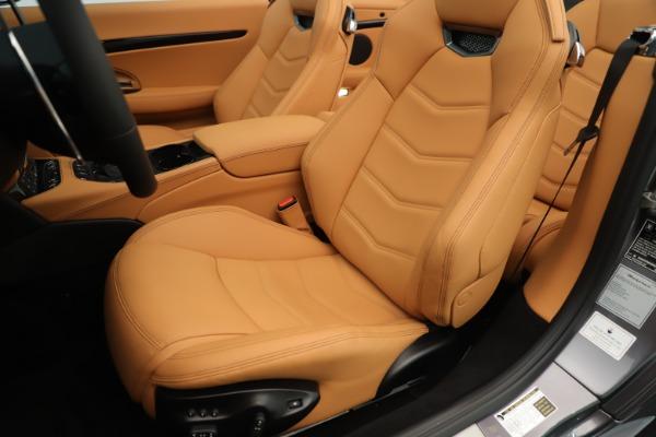 New 2019 Maserati GranTurismo Sport Convertible for sale Sold at Aston Martin of Greenwich in Greenwich CT 06830 21