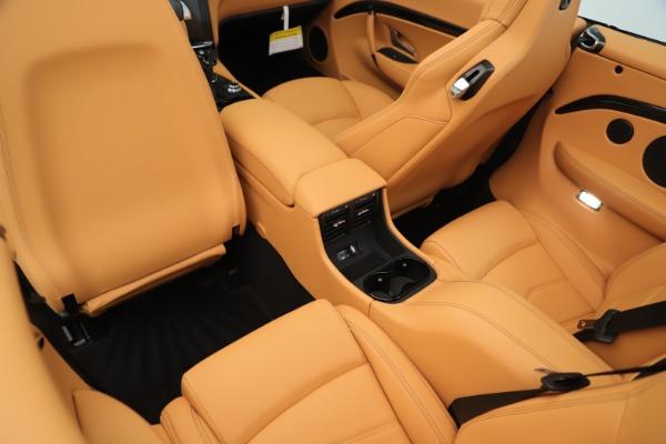 New 2019 Maserati GranTurismo Sport Convertible for sale Sold at Aston Martin of Greenwich in Greenwich CT 06830 25