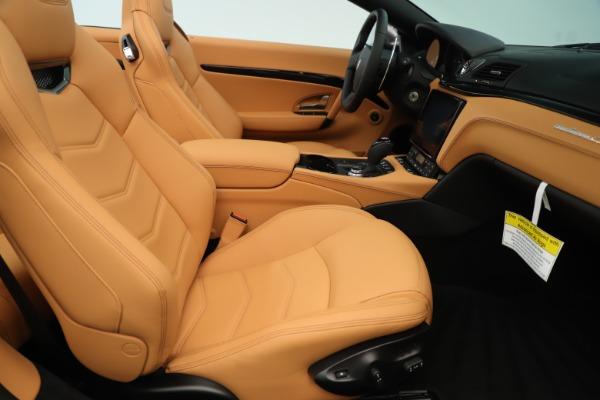 New 2019 Maserati GranTurismo Sport Convertible for sale Sold at Aston Martin of Greenwich in Greenwich CT 06830 27