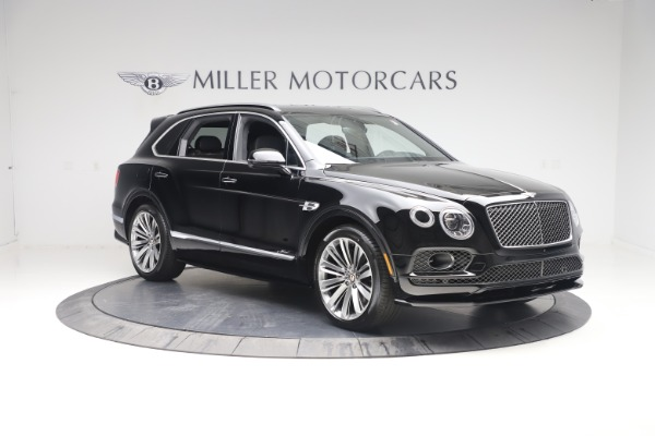 New 2020 Bentley Bentayga Speed for sale $259,495 at Aston Martin of Greenwich in Greenwich CT 06830 11