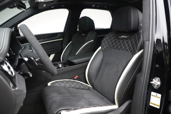 New 2020 Bentley Bentayga Speed for sale $259,495 at Aston Martin of Greenwich in Greenwich CT 06830 19