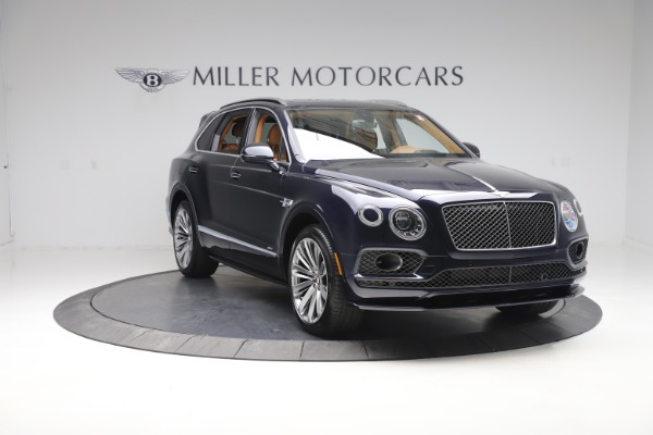 New 2020 Bentley Bentayga Speed for sale Sold at Aston Martin of Greenwich in Greenwich CT 06830 11