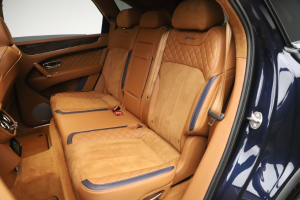 New 2020 Bentley Bentayga Speed for sale Sold at Aston Martin of Greenwich in Greenwich CT 06830 26