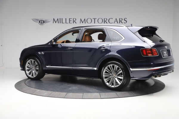 New 2020 Bentley Bentayga Speed for sale Sold at Aston Martin of Greenwich in Greenwich CT 06830 4