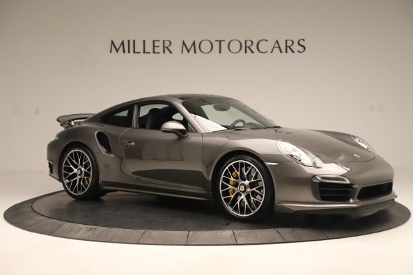 Used 2015 Porsche 911 Turbo S for sale Sold at Aston Martin of Greenwich in Greenwich CT 06830 10