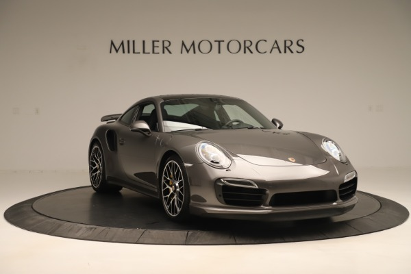 Used 2015 Porsche 911 Turbo S for sale Sold at Aston Martin of Greenwich in Greenwich CT 06830 11