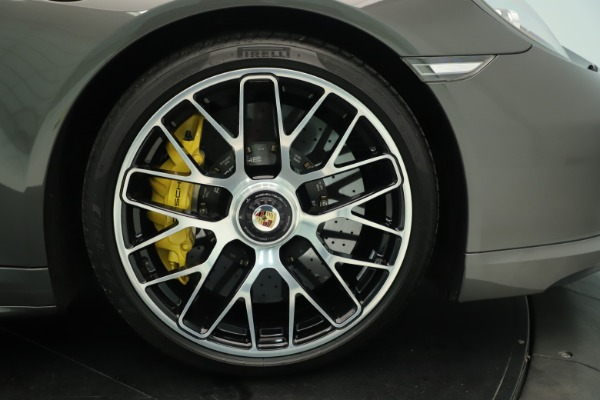 Used 2015 Porsche 911 Turbo S for sale Sold at Aston Martin of Greenwich in Greenwich CT 06830 13