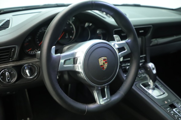 Used 2015 Porsche 911 Turbo S for sale Sold at Aston Martin of Greenwich in Greenwich CT 06830 23