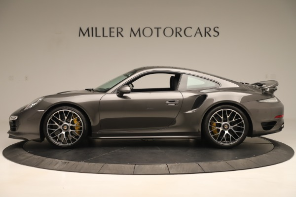 Used 2015 Porsche 911 Turbo S for sale Sold at Aston Martin of Greenwich in Greenwich CT 06830 3