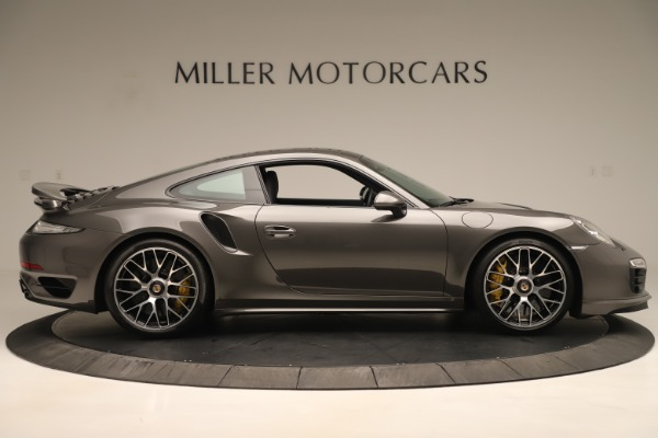 Used 2015 Porsche 911 Turbo S for sale Sold at Aston Martin of Greenwich in Greenwich CT 06830 9