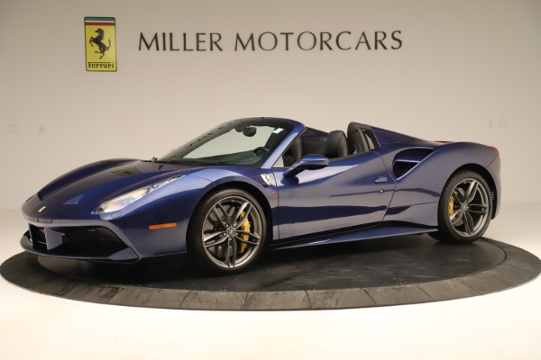 Used 2019 Ferrari 488 Spider for sale Sold at Aston Martin of Greenwich in Greenwich CT 06830 2