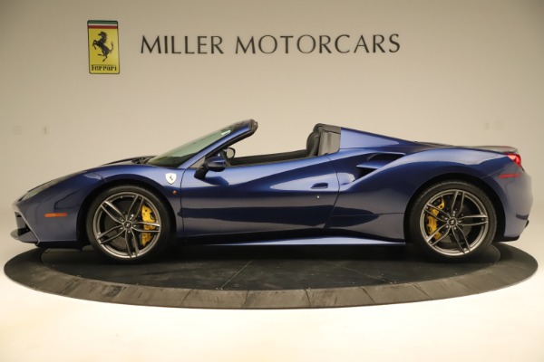 Used 2019 Ferrari 488 Spider for sale Sold at Aston Martin of Greenwich in Greenwich CT 06830 3