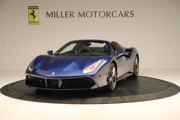 Used 2019 Ferrari 488 Spider for sale Sold at Aston Martin of Greenwich in Greenwich CT 06830 1