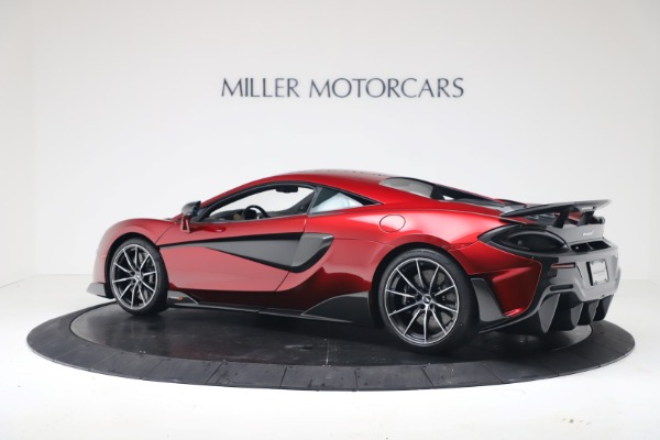 Used 2019 McLaren 600LT Luxury for sale $239,990 at Aston Martin of Greenwich in Greenwich CT 06830 3