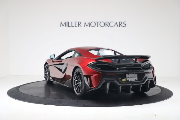 Used 2019 McLaren 600LT Luxury for sale $239,990 at Aston Martin of Greenwich in Greenwich CT 06830 4