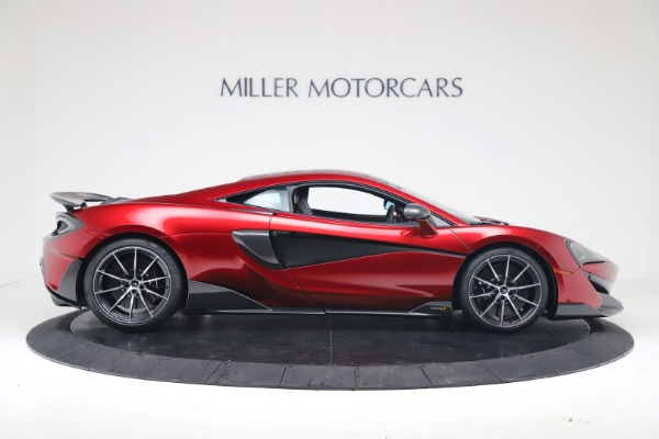 New 2019 McLaren 600LT Coupe for sale $285,236 at Aston Martin of Greenwich in Greenwich CT 06830 8