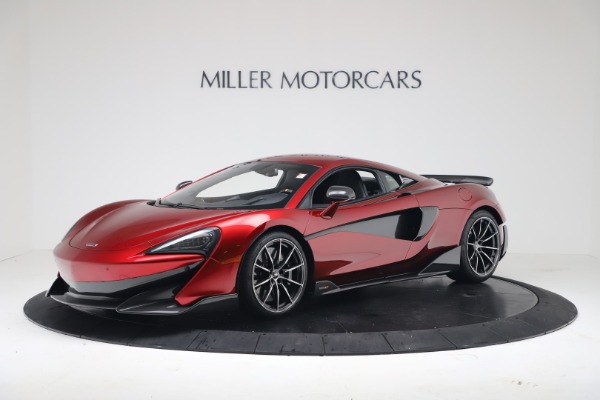Used 2019 McLaren 600LT Luxury for sale $239,990 at Aston Martin of Greenwich in Greenwich CT 06830 1
