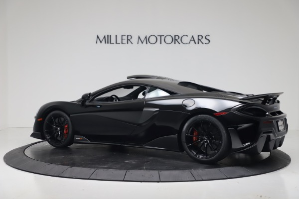 New 2019 McLaren 600LT Coupe for sale $305,639 at Aston Martin of Greenwich in Greenwich CT 06830 3
