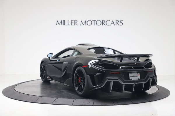 New 2019 McLaren 600LT Coupe for sale $305,639 at Aston Martin of Greenwich in Greenwich CT 06830 4