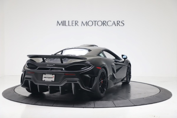 New 2019 McLaren 600LT Coupe for sale $305,639 at Aston Martin of Greenwich in Greenwich CT 06830 6