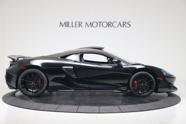 New 2019 McLaren 600LT Coupe for sale $305,639 at Aston Martin of Greenwich in Greenwich CT 06830 8