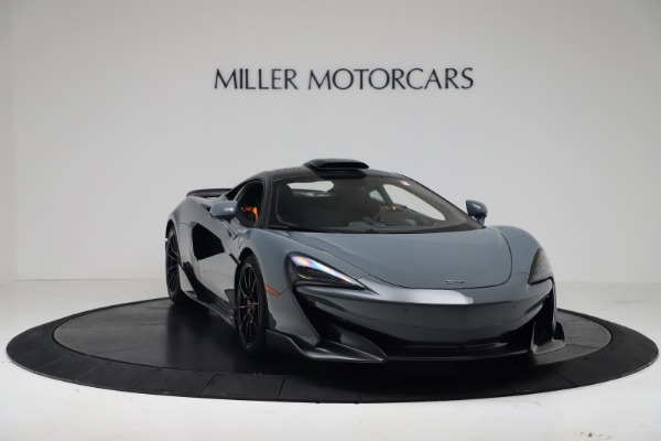 New 2019 McLaren 600LT for sale $311,619 at Aston Martin of Greenwich in Greenwich CT 06830 10