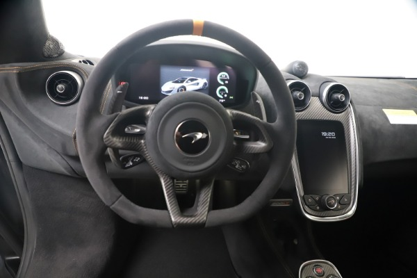 Used 2019 McLaren 600LT for sale $279,900 at Aston Martin of Greenwich in Greenwich CT 06830 18