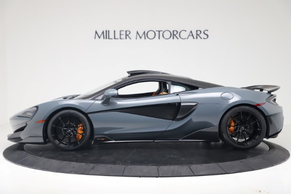 New 2019 McLaren 600LT for sale $311,619 at Aston Martin of Greenwich in Greenwich CT 06830 2